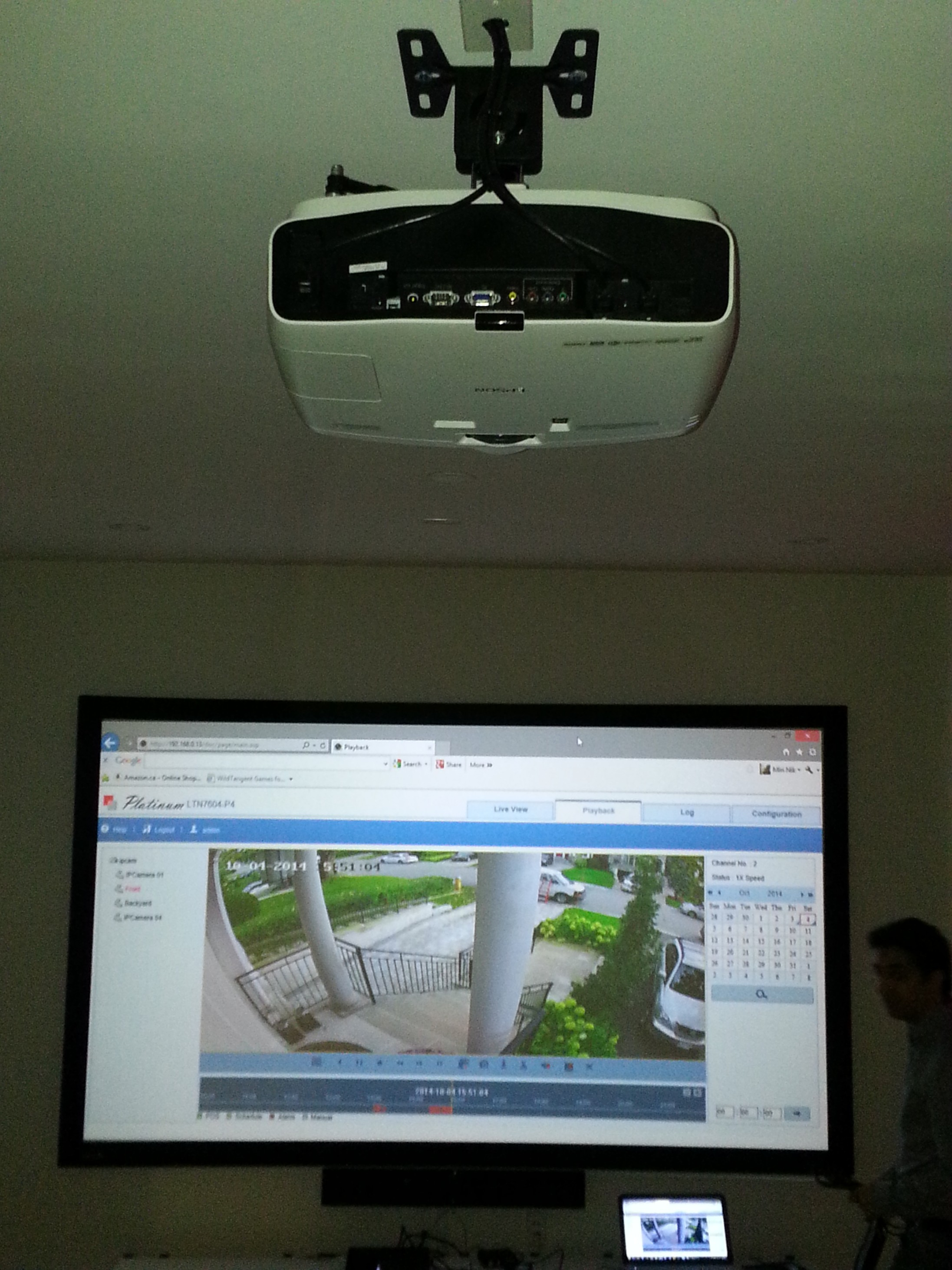 Projector Set Up Gta Networking Solutions Her Muno Bpom Asli